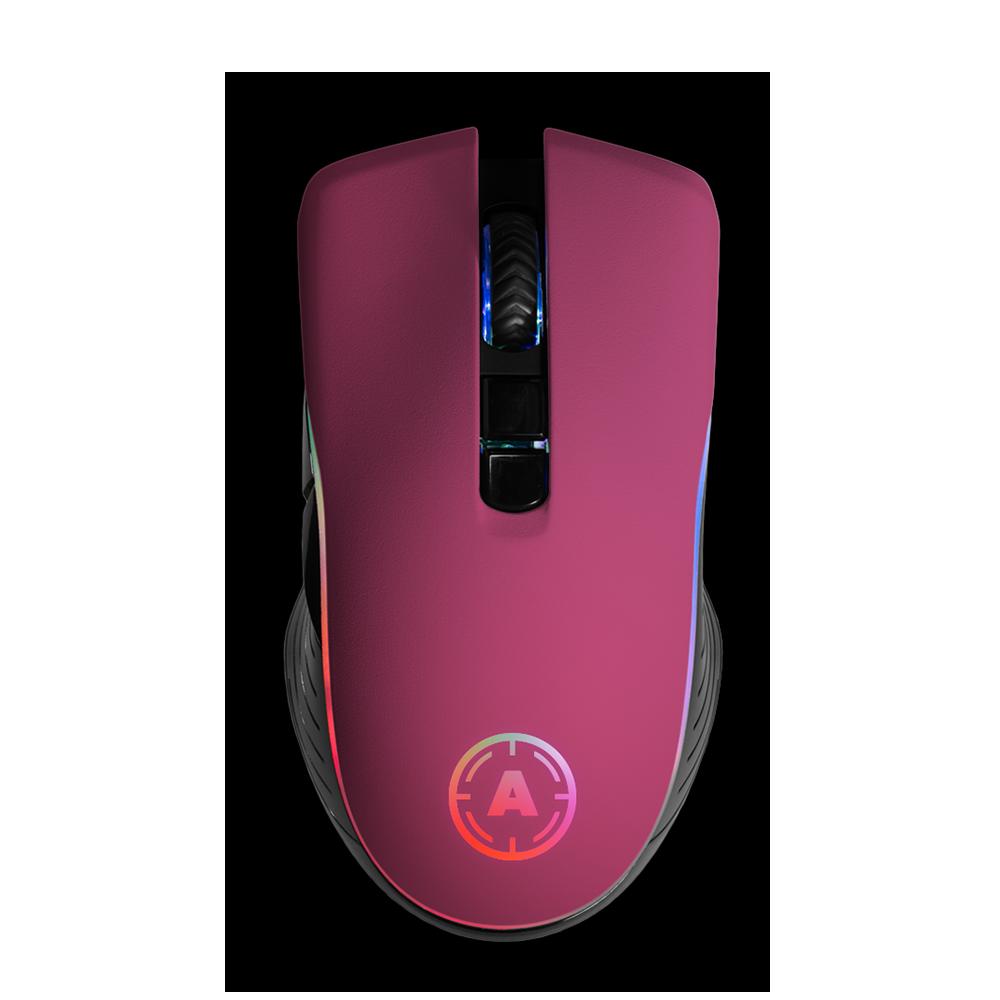 Aim Pink Matt RGB Mouse