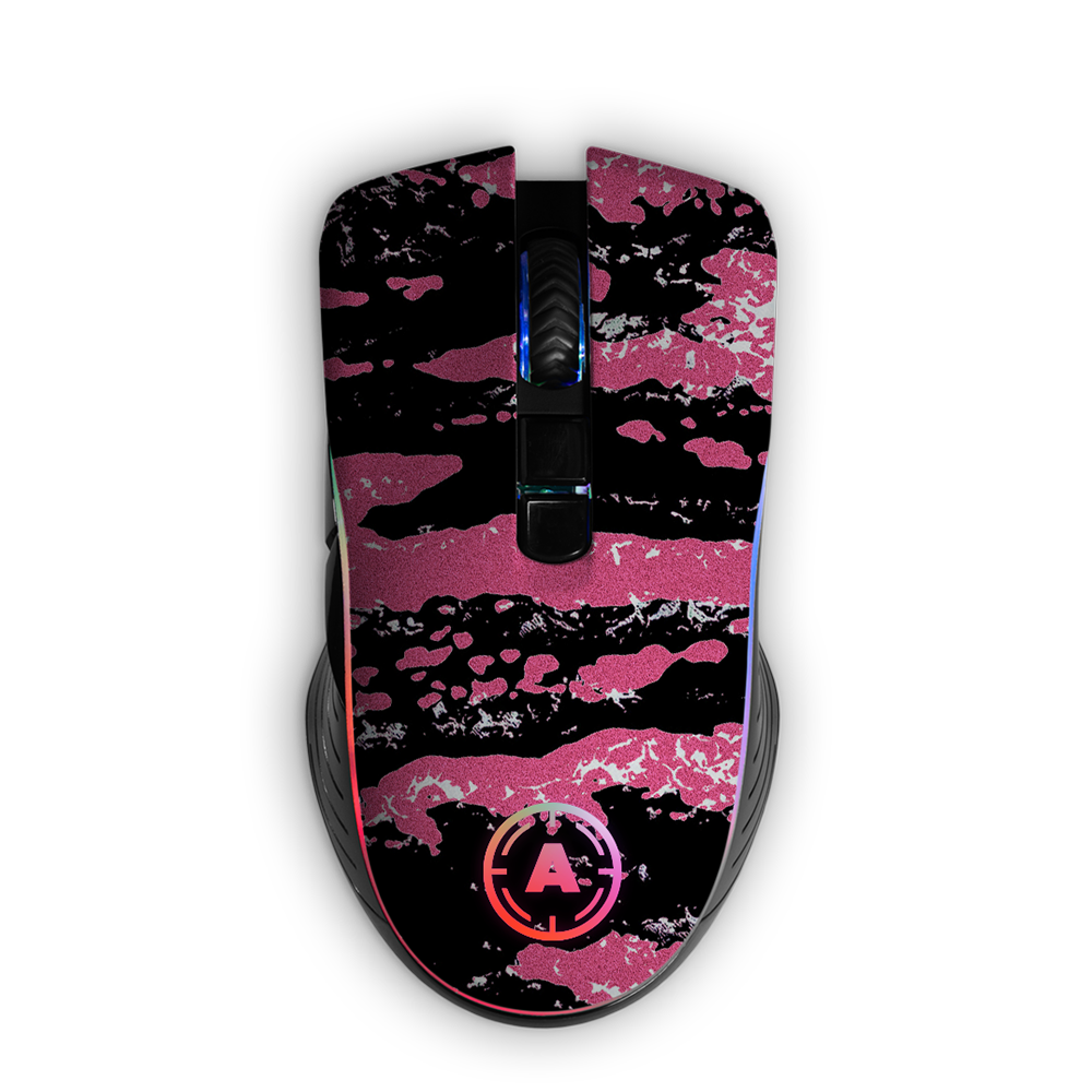 Aim Camo Pink RGB Mouse