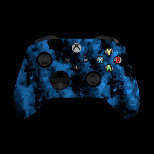 Aim Digi Camo Blue XO Controller