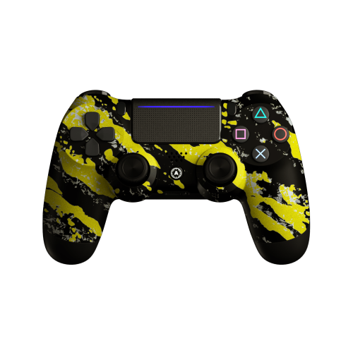 Aim Camo Yellow PS4 Controller