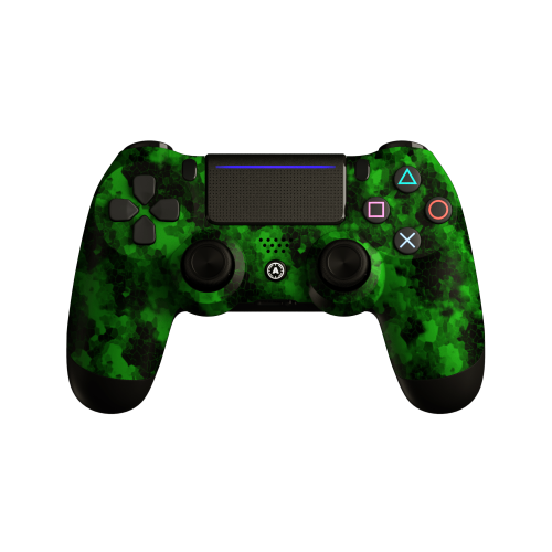 Aim Digi Camo Green PS4 Controller
