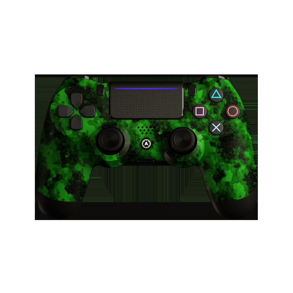 Aim Digi Camo Green PS4 Controller