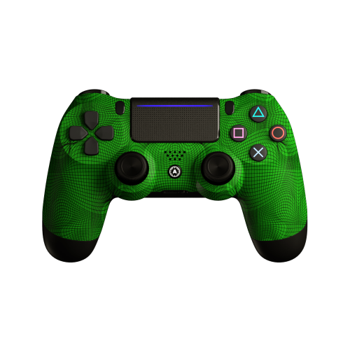 Aim Grid Green PS4 Controller