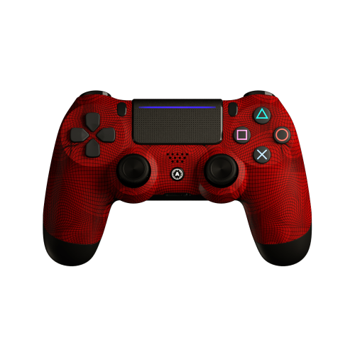 Aim Grid Red PS4 Controller