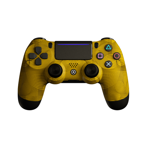 Aim Grid Yellow PS4 Controller