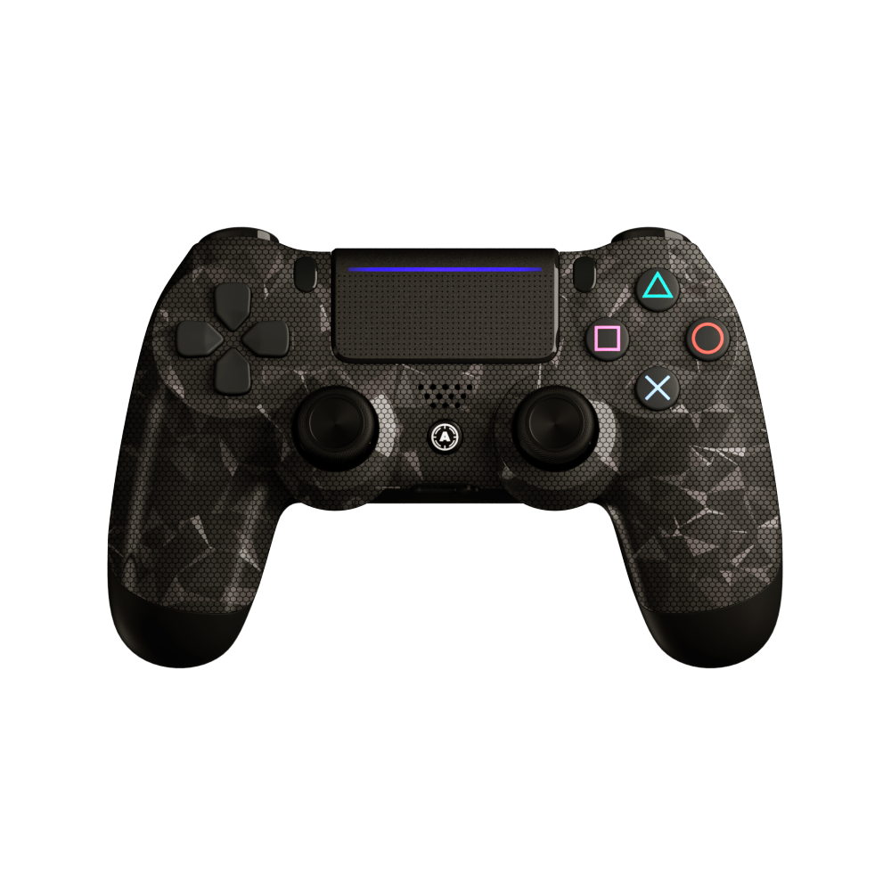 Aim Hydro Silver Hologram PS4 Controller