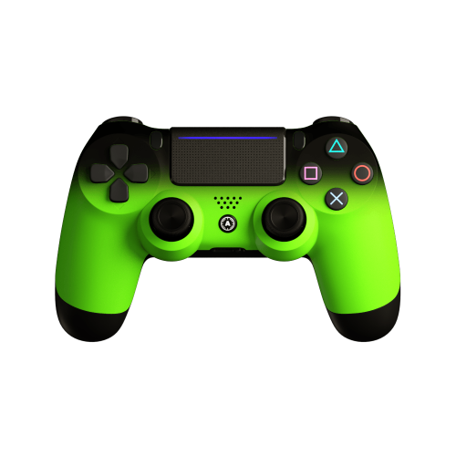 Aim Neon Green Shadow PS4 Controller