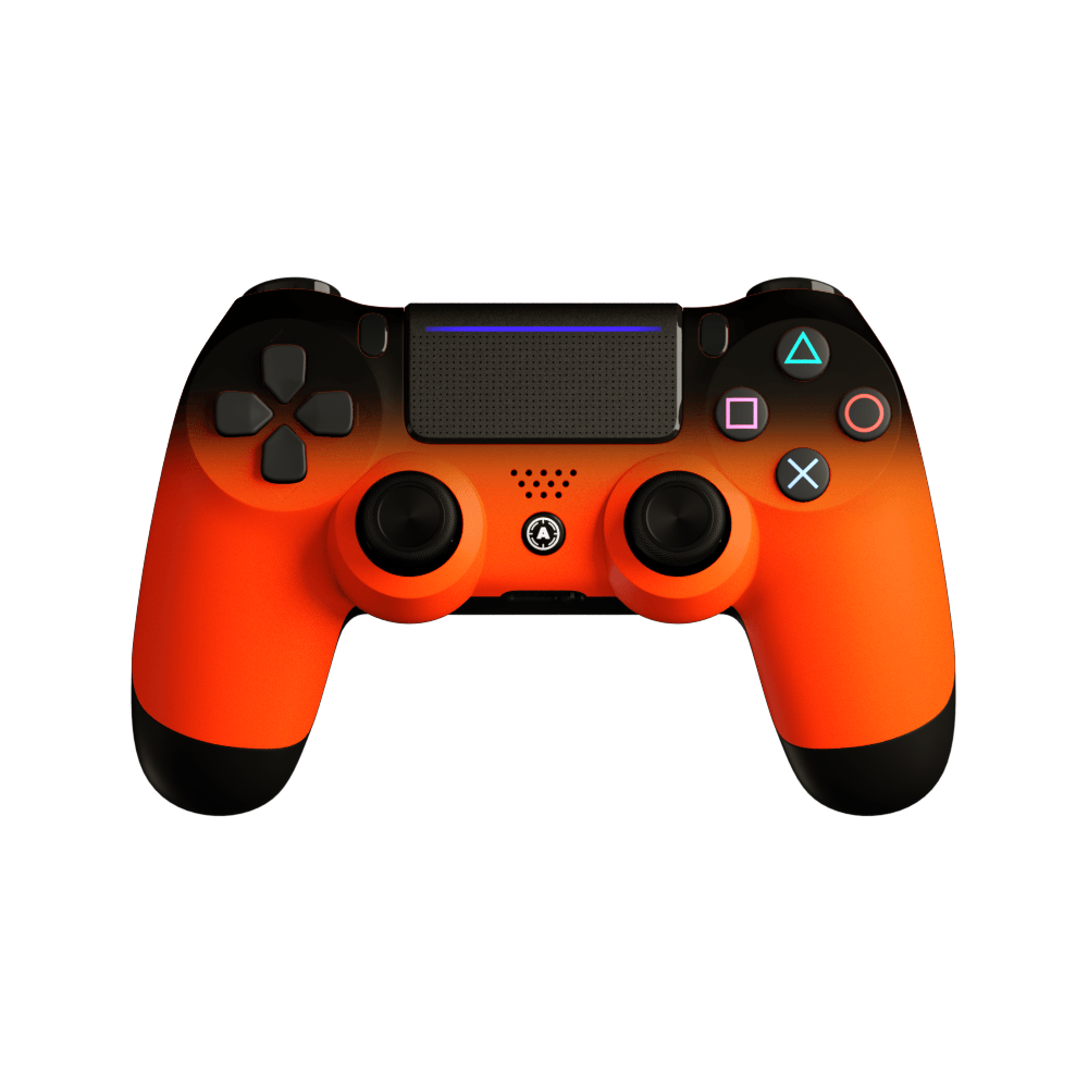 Aim Neon Orange Shadow PS4 Controller