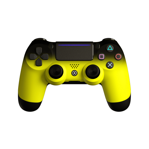 Aim Neon Yellow Shadow PS4 Controller