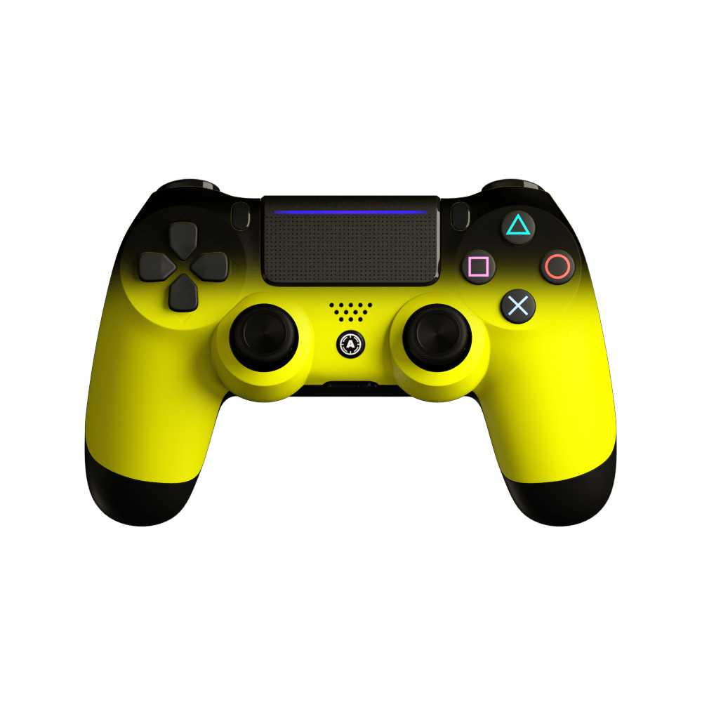 Aim Neon Yellow Shadow PS4 Controller