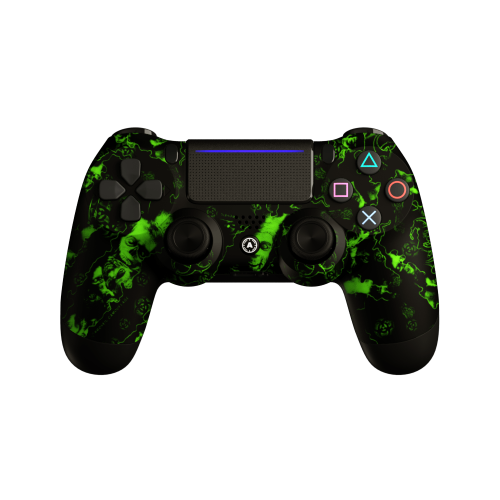 Aim ReaperZ Neon Green PS4 Controller