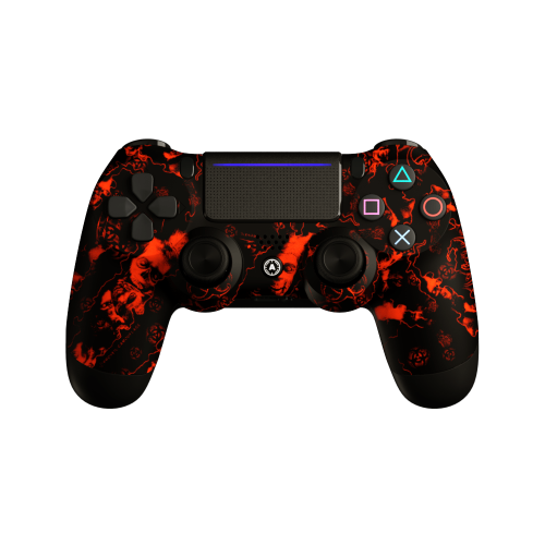 Aim ReaperZ Neon Orange PS4 Controller