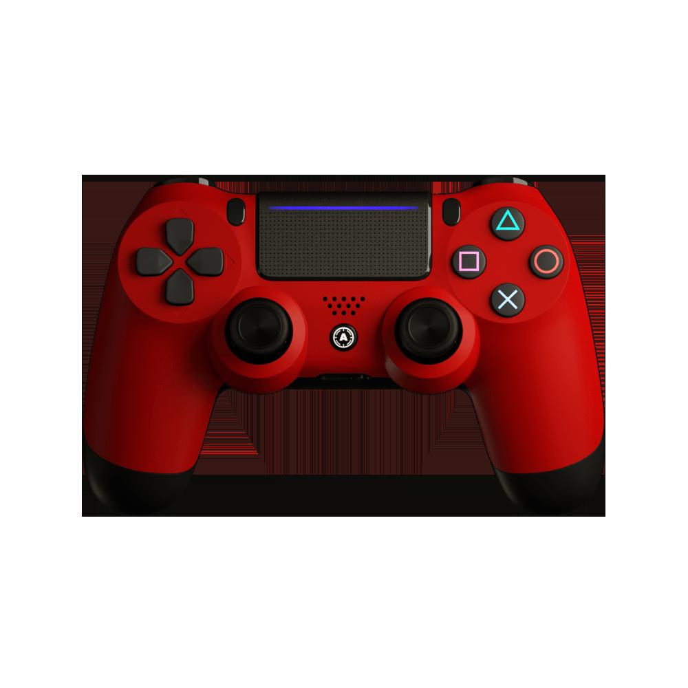 Aim Red Matt PS4 Controller