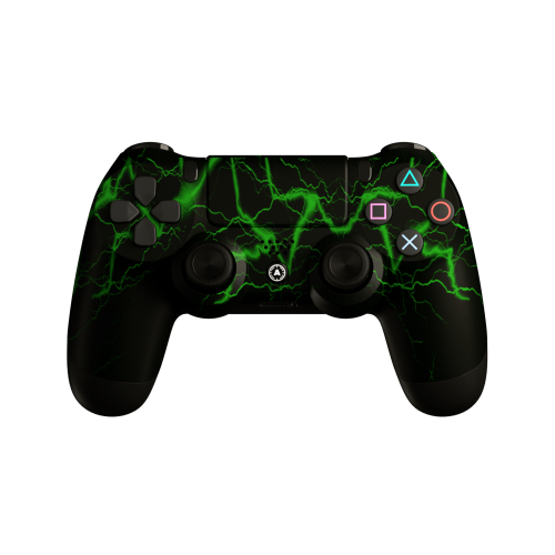 PS4 Controllers Aim Storm Green Full