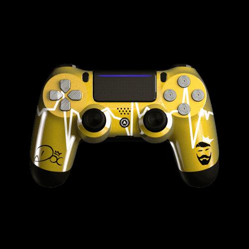 PS4 Custom controller DOC Gold